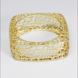 JewelMint Bird Cage Bangle